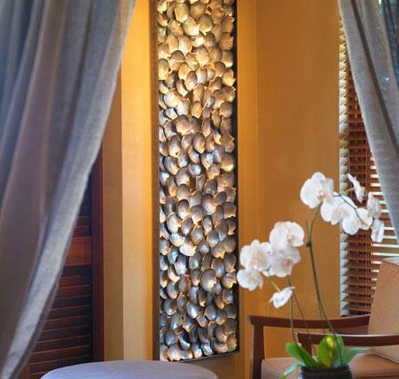 افكار ديكور جدران غرف النوم اللون الغامق4
