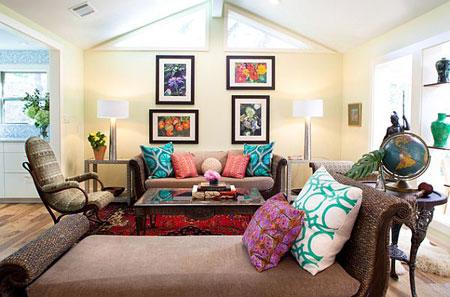 طرق بسيطة لاضافة اللون المستمر في منزلك7
