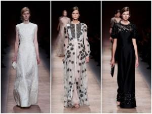 مجموعة فالنتينو من الفساتين لربيع وصيف 2013