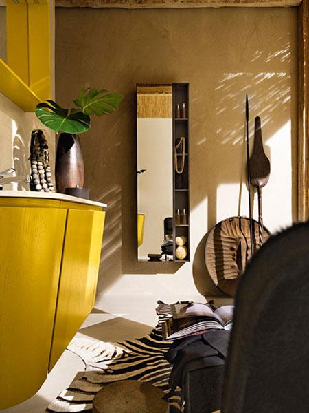 تصاميم حمام باللون الاصفر12