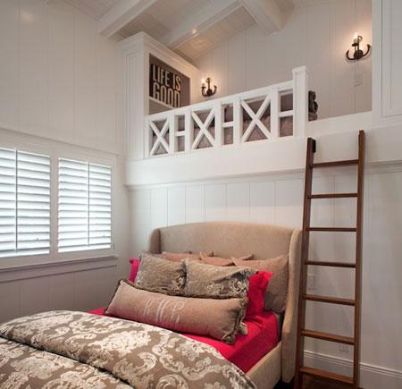 تصاميم غرفة اطفال مع سرير علوي لوفت3