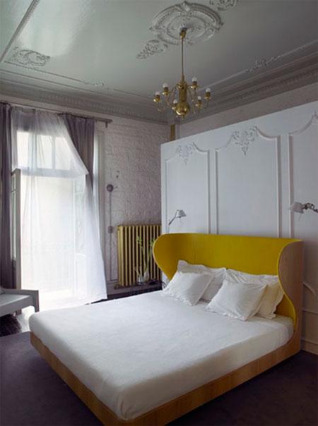 افكار رائعة لاستخدام المساحة خلف السرير6