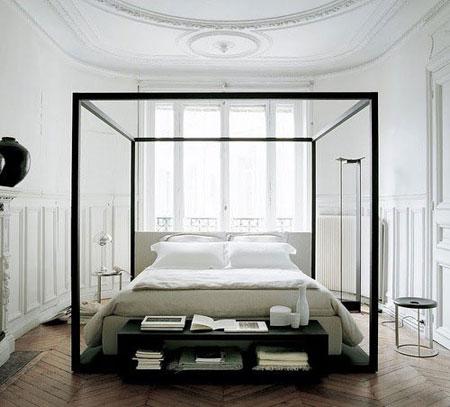 افكار رائعة لاستخدام المساحة خلف السرير5