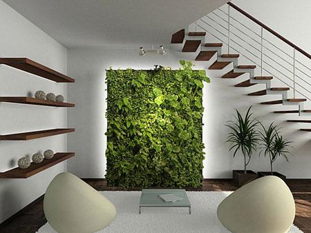 تزيين داخل المنزل بالنباتات8