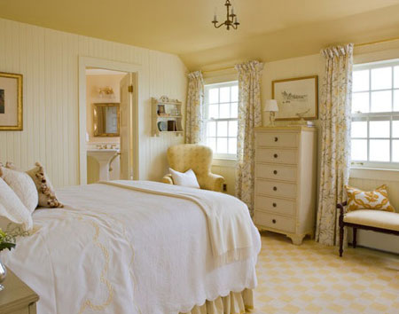 تصاميم غرف نوم لون  اصفر6