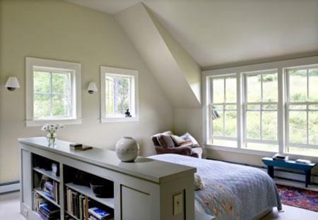 افكار رائعة لاستخدام المساحة خلف السرير4