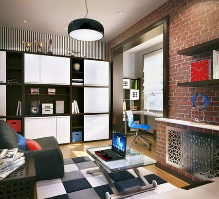 تصاميم غرف خاصة للاولاد7