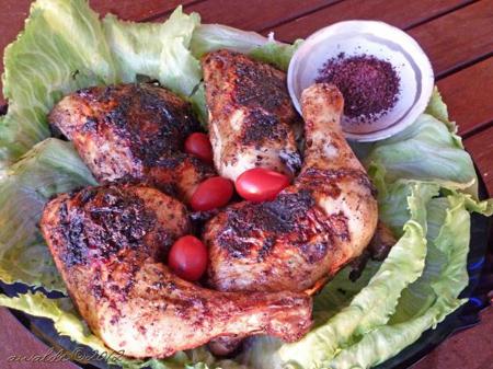 دجاج مع السماق
