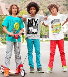 موديلات ملابس للاولاد لربيع 2013 من اتش اند ام H&M