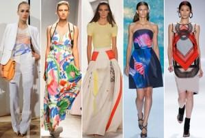 موضة الربيع لعام 2013 رسومات ومطبوعات على الملابس تصاميم من فيفيان تام,مونيك لهيليير,كارولينا هيريرا,مارمييكو,جي كريو