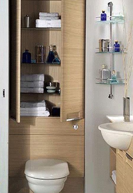 افكار لتنظيم وتخزين الاشياء في الحمام