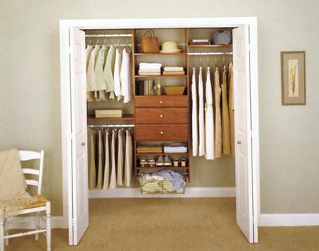 كيفية تنظيم وترتيب خزانة الملابس