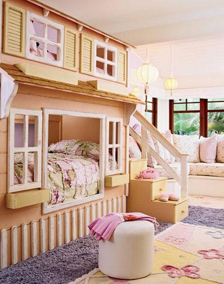 ديكورات مرحة لتزيين غرف الاطفال