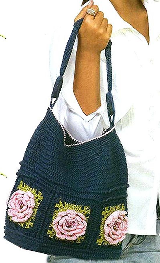 сумочка из резинок