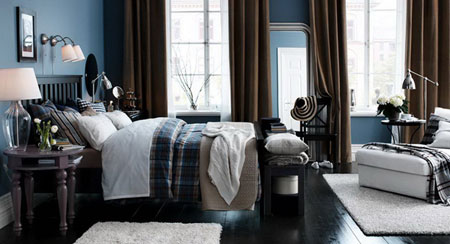احدث موديلات غرف النوم من ايكيا لعام 2013