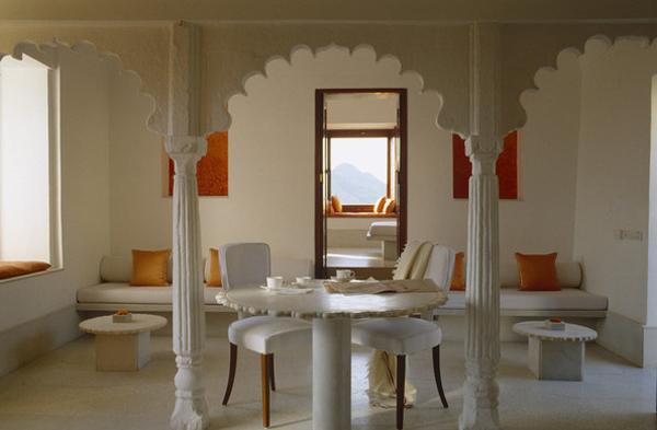 تصاميم غرف طعام بلمسات مغربية