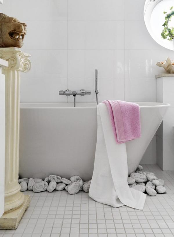 حمامات صغيرة انيقة مع ديكورات غير عادية