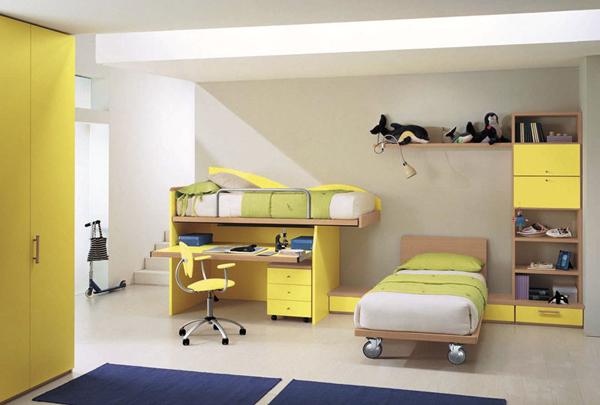 نظام الالوان لغرف الاطفال