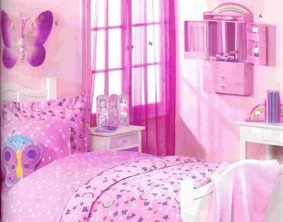 افكار تزيين جدران غرف البنات