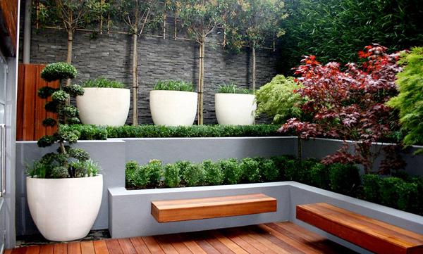 - Gartendekoration modern ...